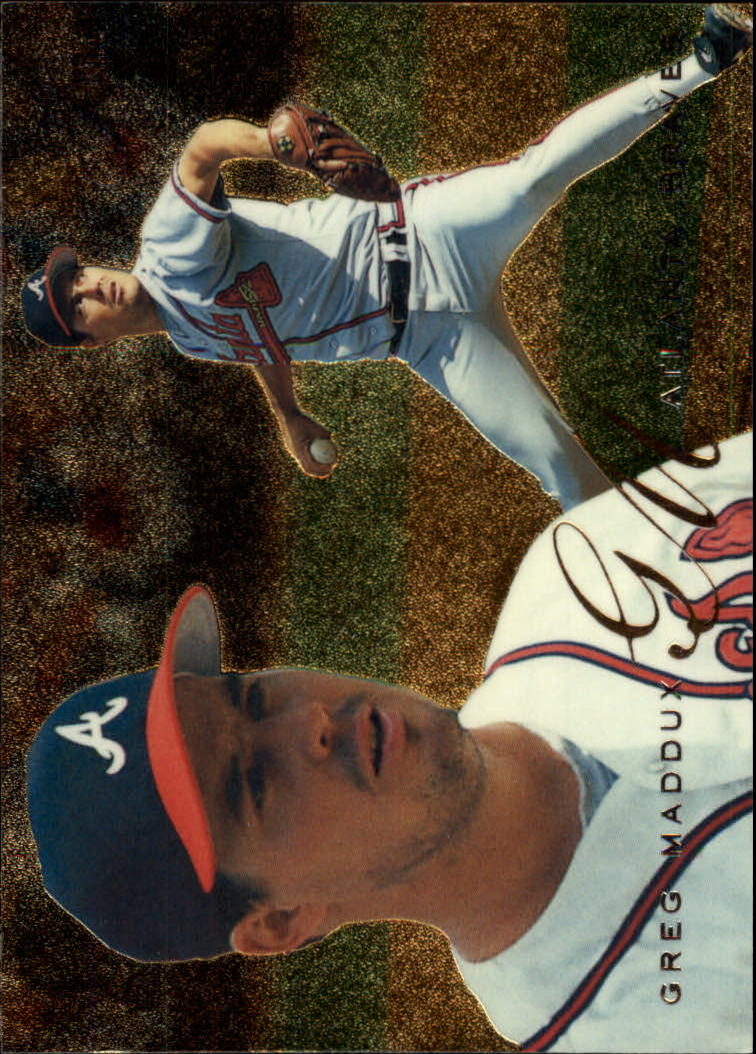 1995 Flair #105 Greg Maddux