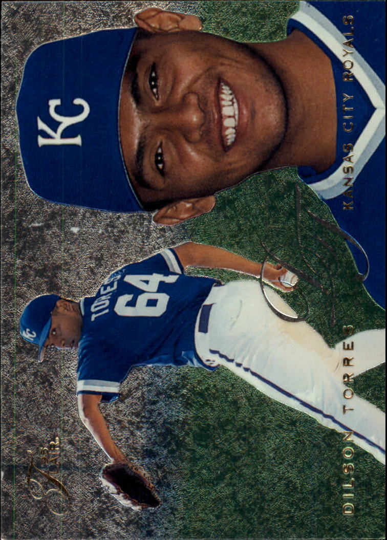 1995 Flair #267 Dilson Torres RC