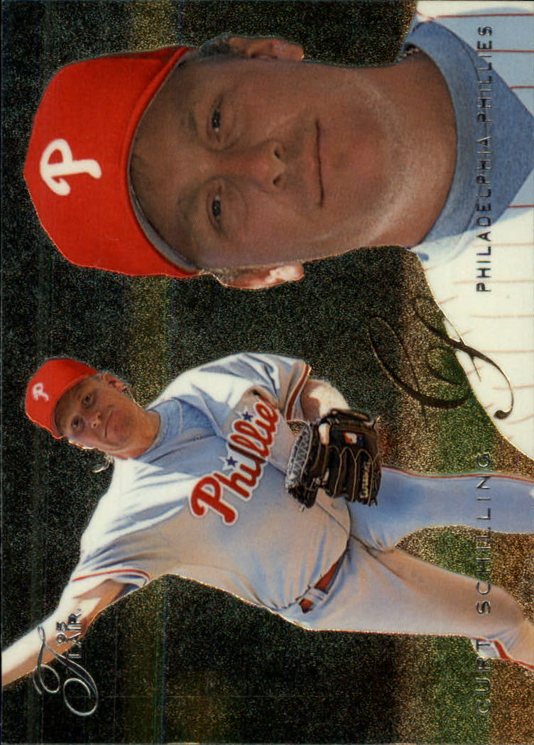1995 Flair #395 Curt Schilling