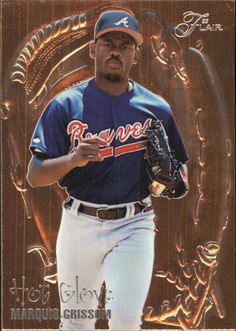 1995 Flair Hot Gloves #4 Marquis Grissom