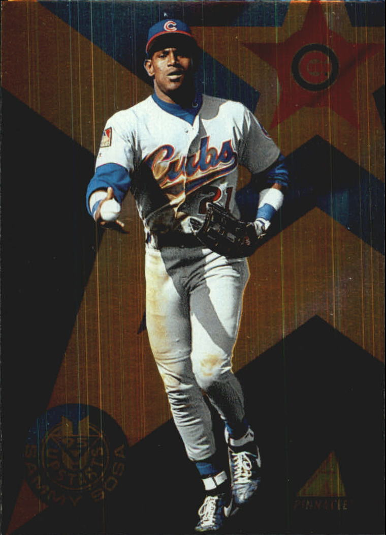 1995 Pinnacle Upstarts #US12 Sammy Sosa
