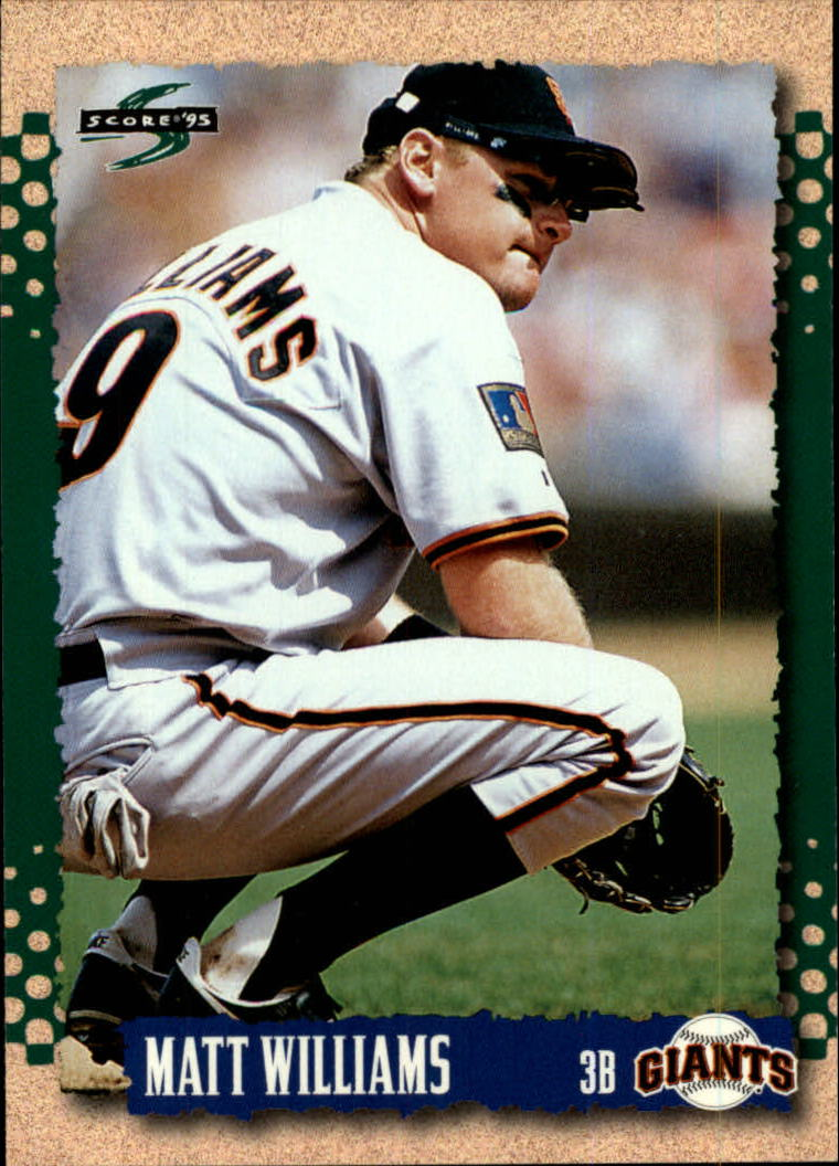 1995 Score #5 Matt Williams