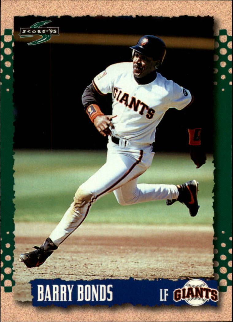 1995 Score #30 Barry Bonds