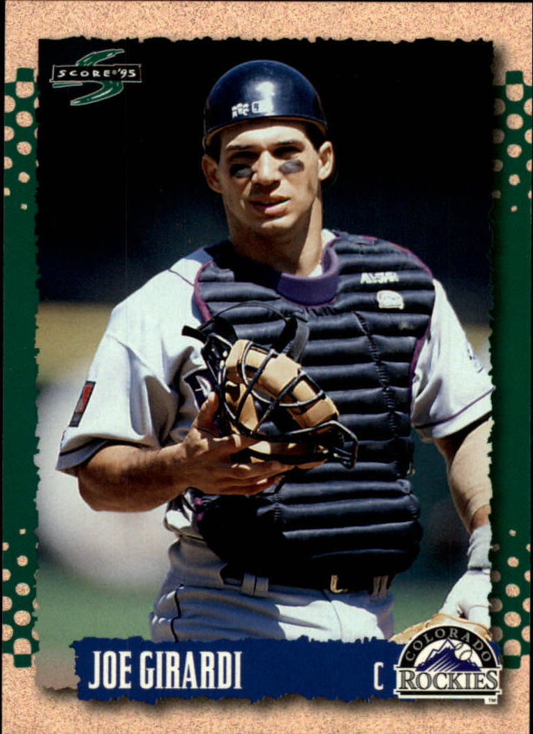 1995 Score #95 Joe Girardi