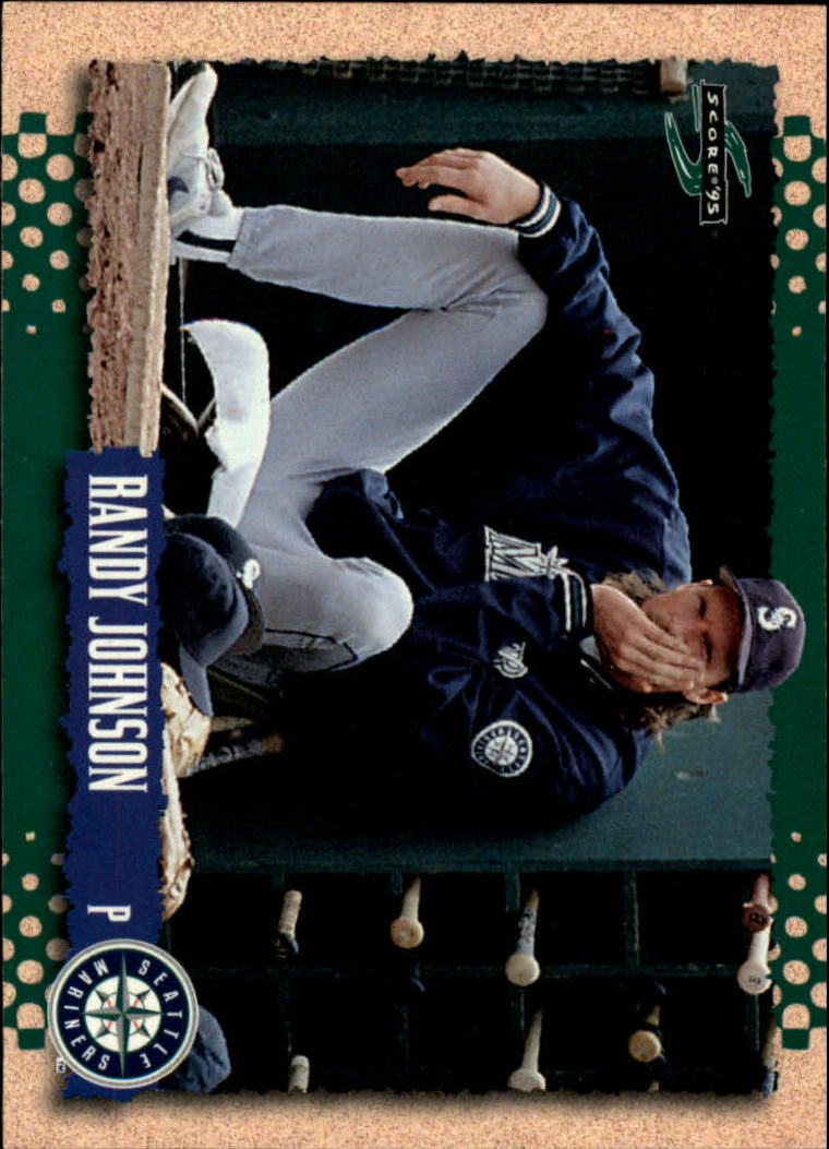 1995 Score #222 Randy Johnson