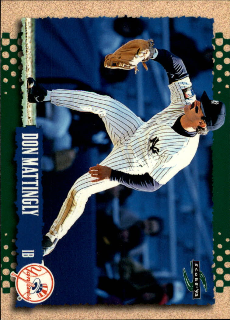 1995 Score #239 Don Mattingly