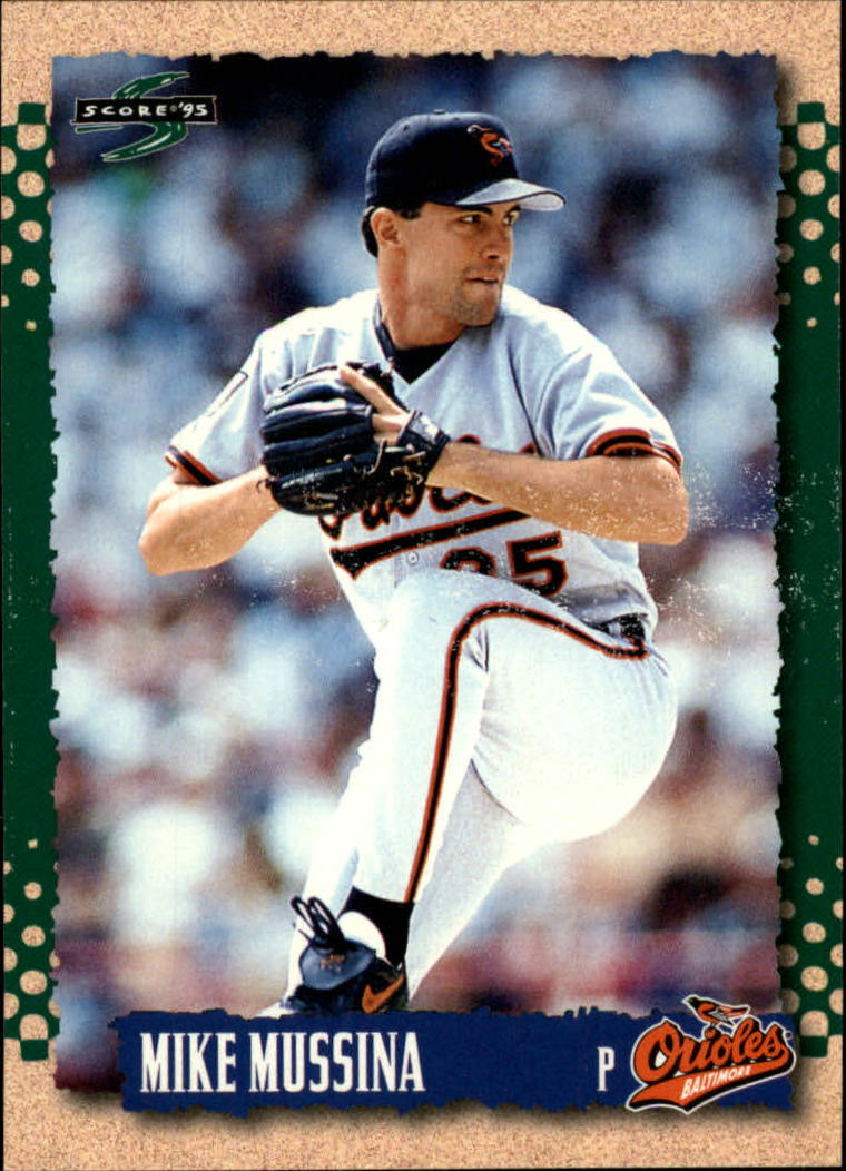 1995 Score #415 Mike Mussina