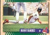 1995 Score #445 Manny Ramirez
