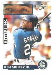 1995 Score #551 Ken Griffey Jr. HIT