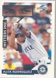 1995 Score #569 Alex Rodriguez HIT
