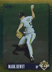 1995 Score Gold Rush #24 Mark Dewey