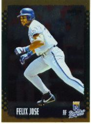 1995 Score Gold Rush #82 Felix Jose