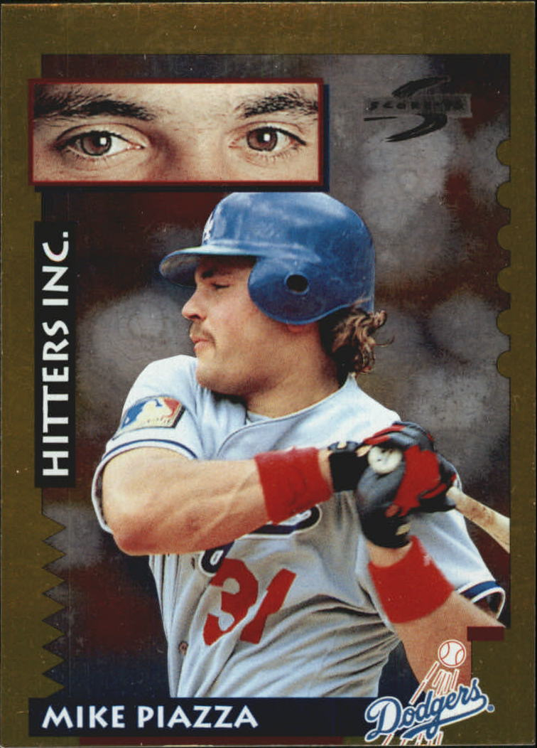1995 Score Gold Rush #558 Mike Piazza HIT