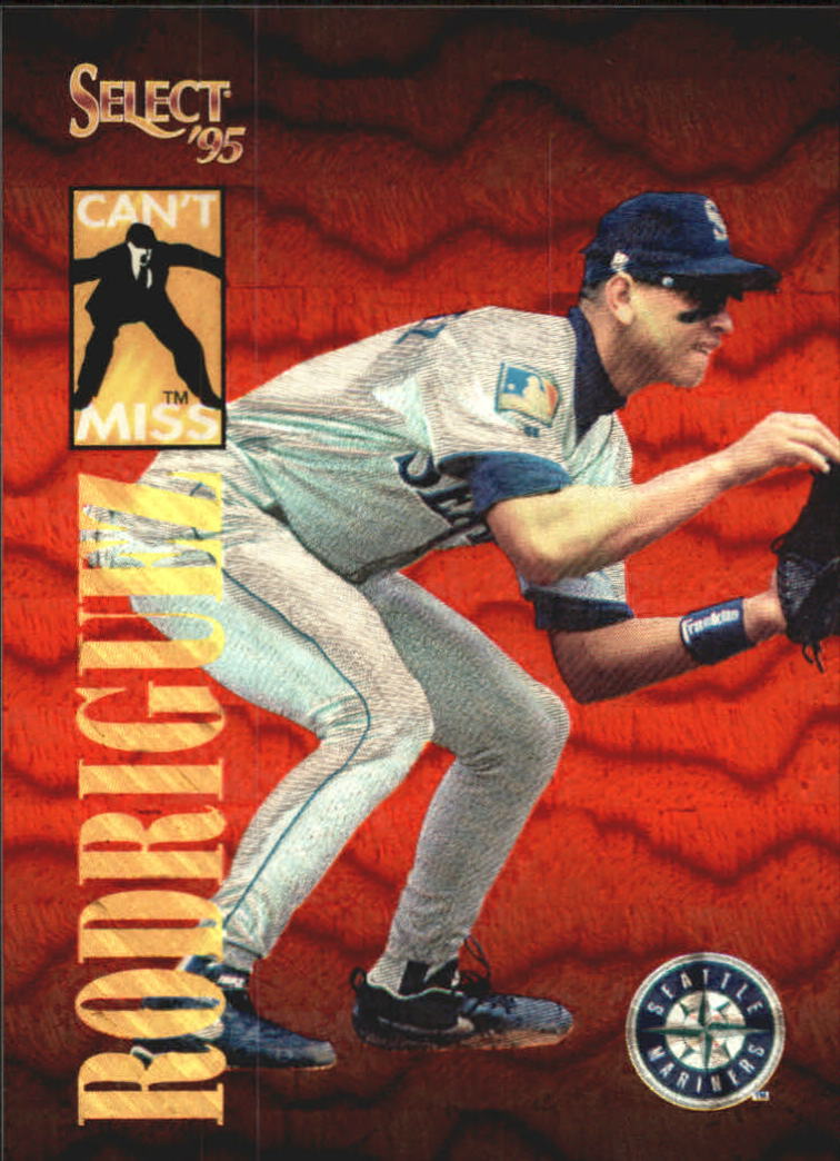 1995 Select Can't Miss #CM10 Alex Rodriguez