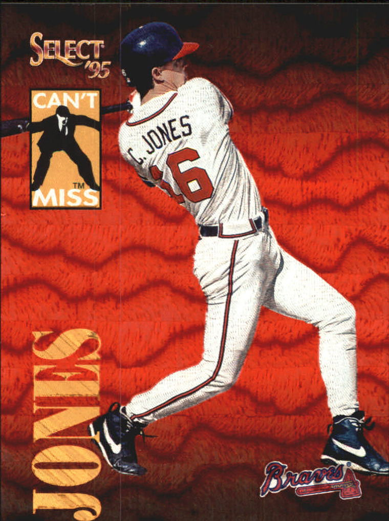 1995 Select Can't Miss #CM11 Chipper Jones