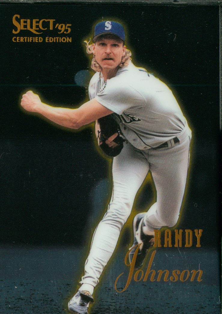 1995 Select Certified #61 Randy Johnson