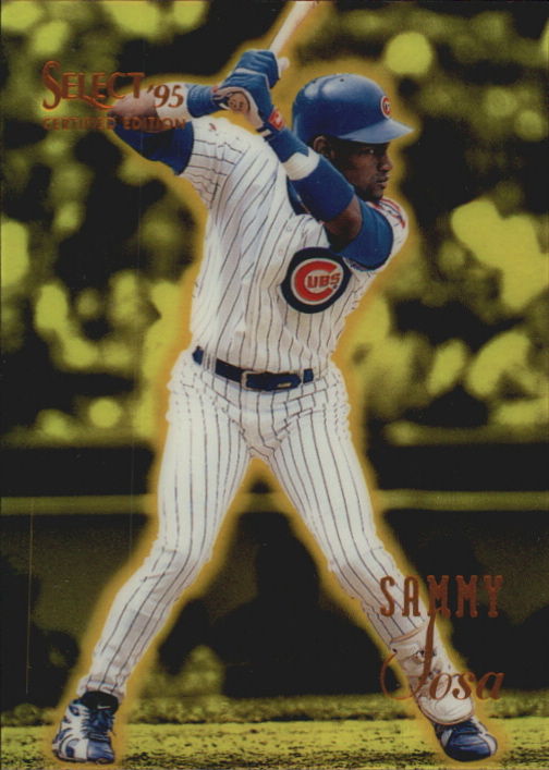 1995 Select Certified #84 Sammy Sosa