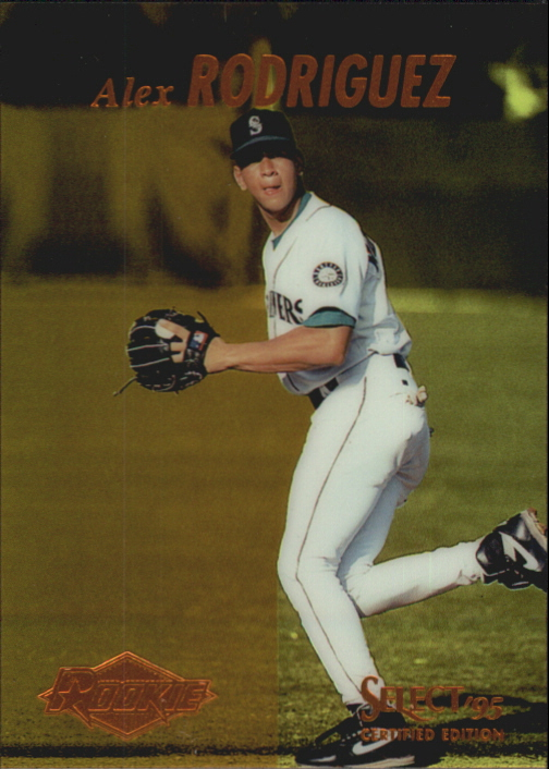 1995 Select Certified #118 Alex Rodriguez