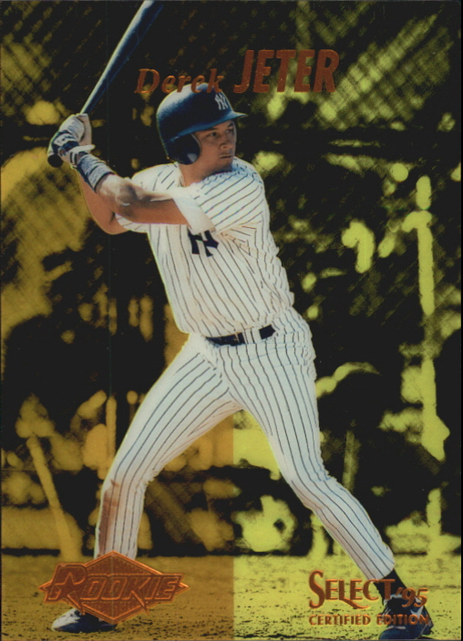1995 Select Certified #122 Derek Jeter