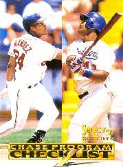 1995 Select Certified Checklists #7 M.Ramirez/R.Mondesi
