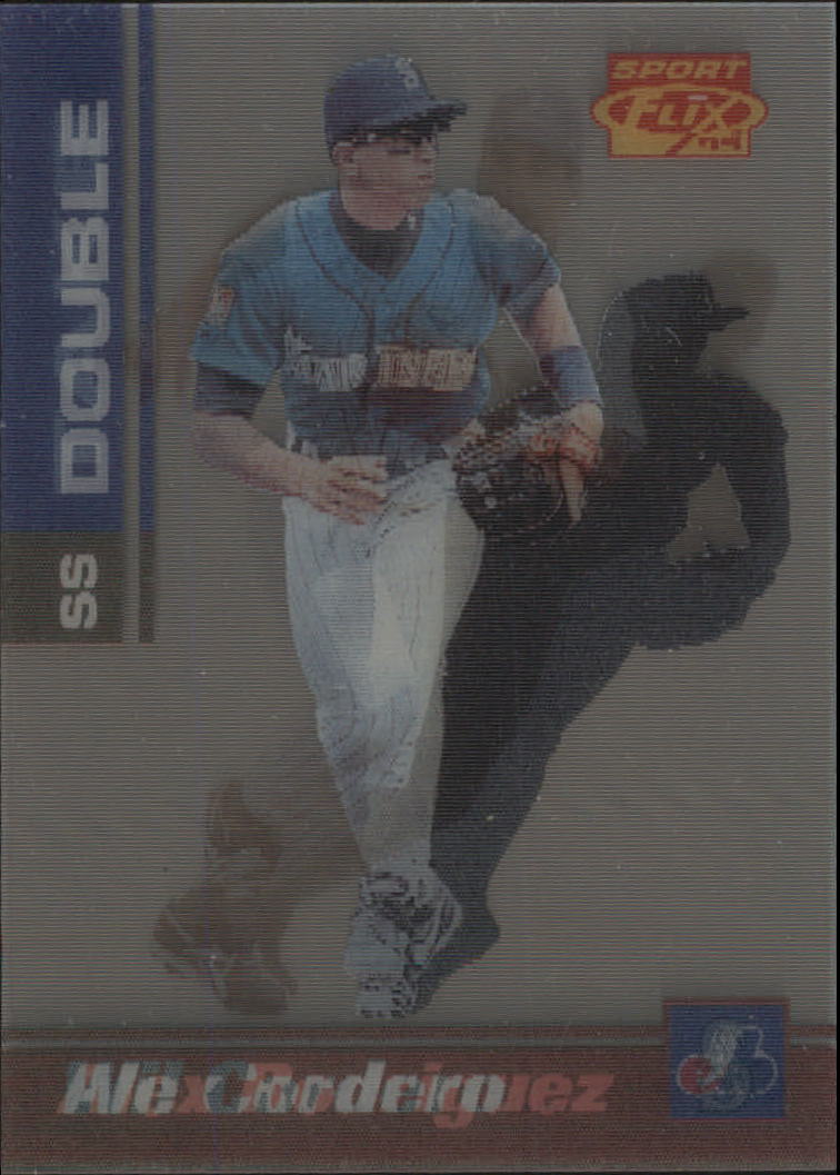 1995 Sportflix Double Take #6 A.Rodriguez/W.Cordero