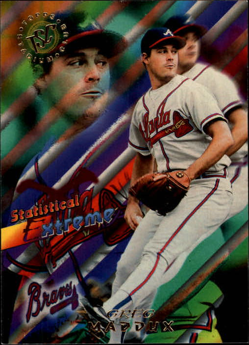 1995 Stadium Club #46 Greg Maddux SE
