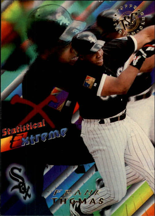 1995 Stadium Club #47 Frank Thomas SE