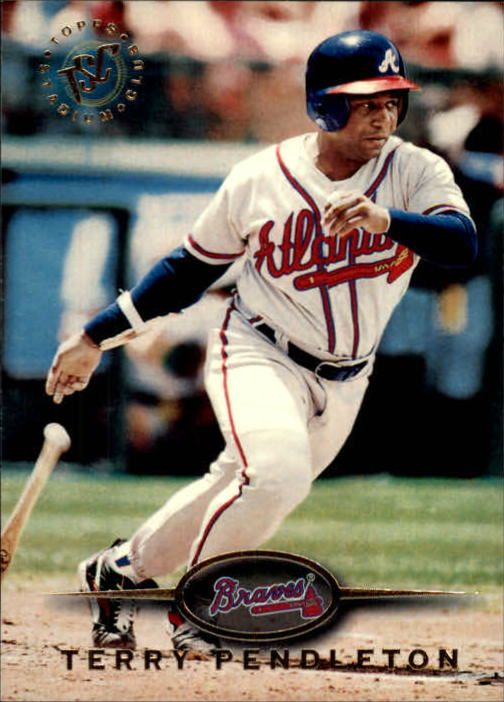 1995 Stadium Club #66 Terry Pendleton