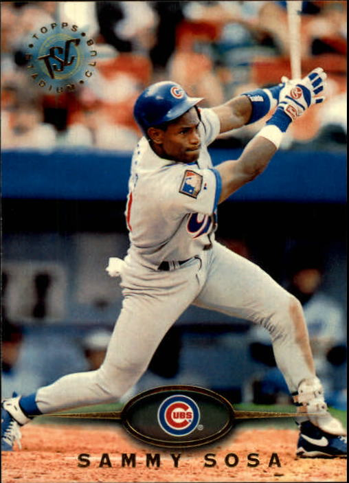 1995 Stadium Club #174 Sammy Sosa