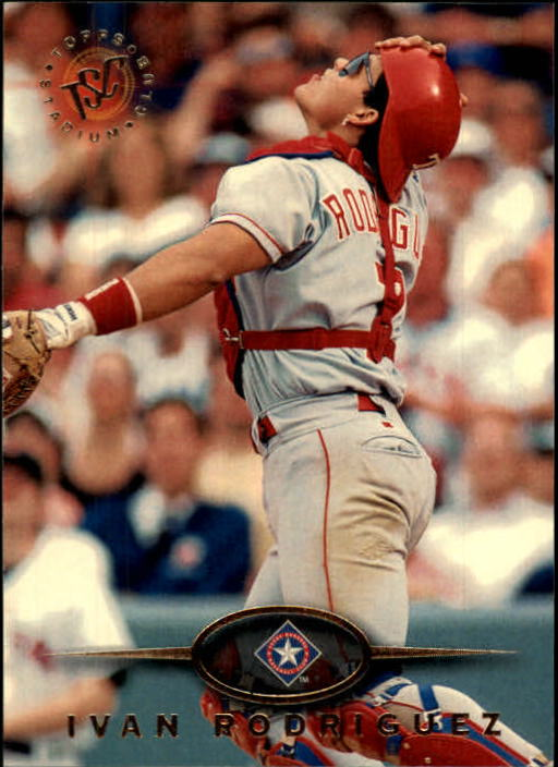 1995 Stadium Club #197 Ivan Rodriguez