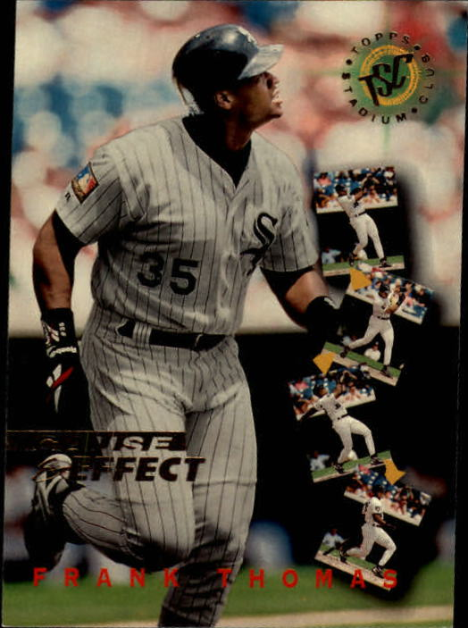 1995 Stadium Club #236 Frank Thomas CE