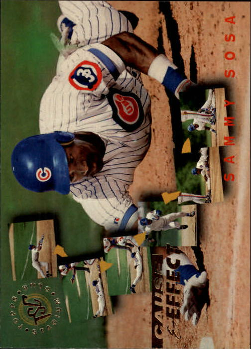 1995 Stadium Club #238 Sammy Sosa CE
