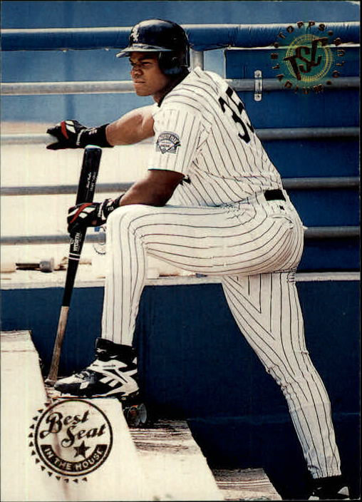 1995 Stadium Club #318 Frank Thomas BES