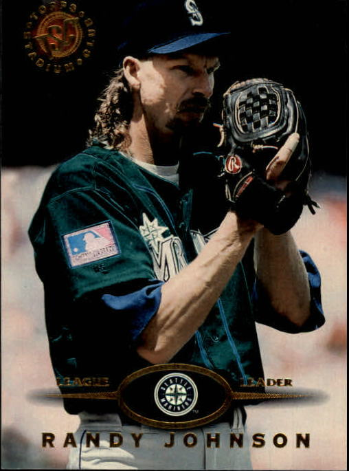 1995 Stadium Club #340 Randy Johnson
