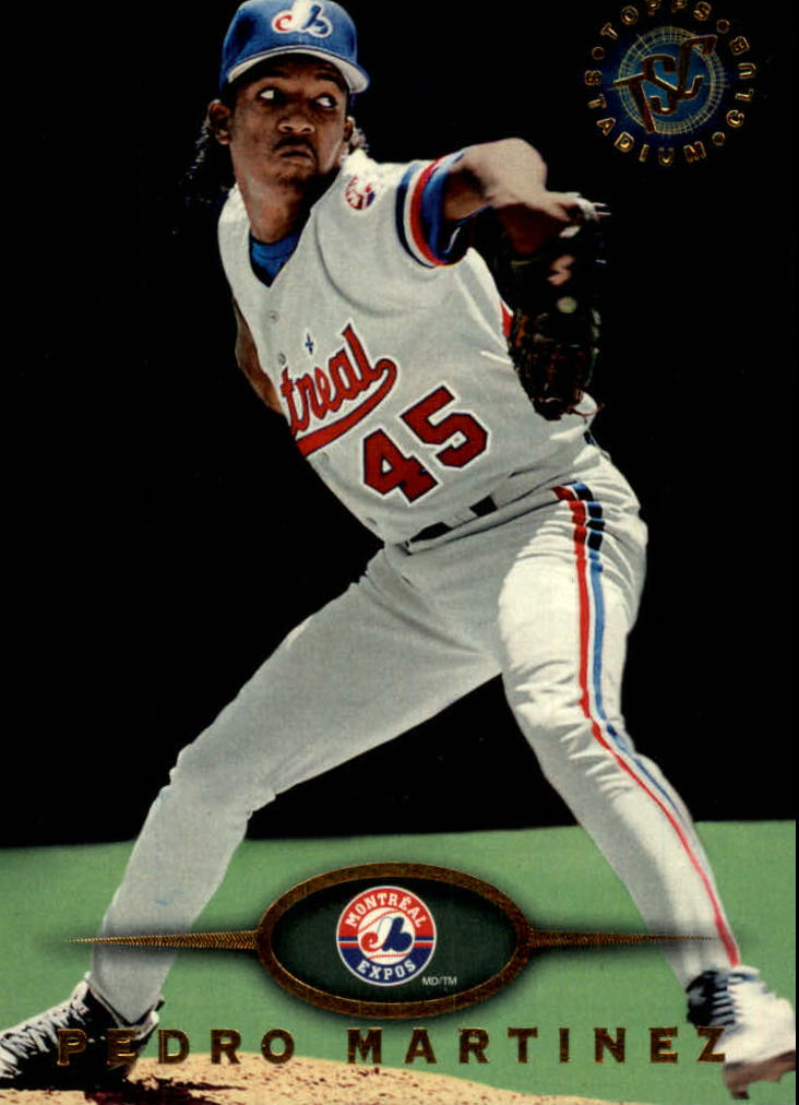 1995 Stadium Club #485 Pedro Martinez