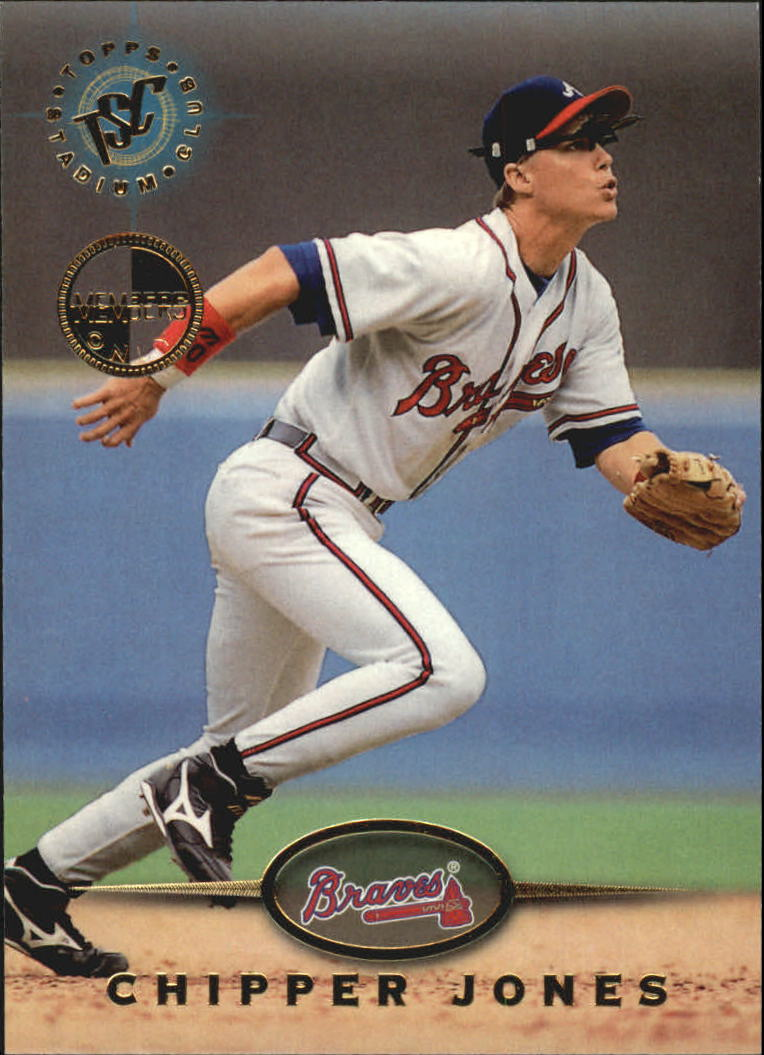 1995 Stadium Club #543 Chipper Jones