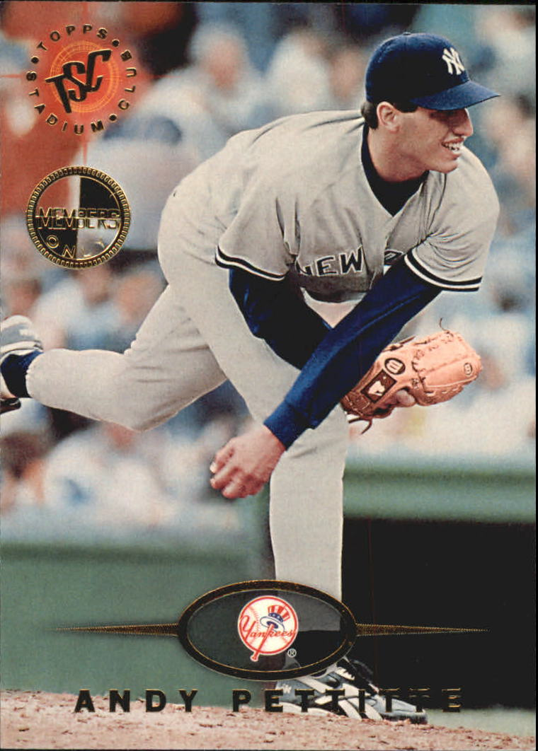 1995 Stadium Club #565 Andy Pettitte