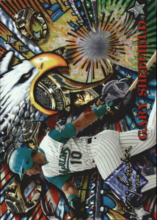1995 Stadium Club Ring Leaders #RL15 Gary Sheffield