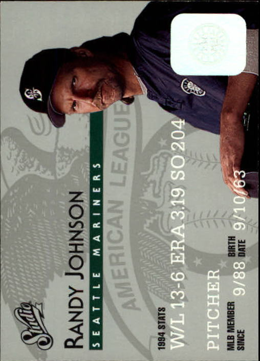 1995 Studio #48 Randy Johnson