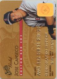 1995 Studio Gold Series #9 Jose Canseco