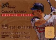 1995 Studio Gold Series #36 Carlos Baerga