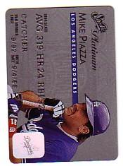 1995 Studio Platinum Series #4 Mike Piazza