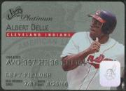 1995 Studio Platinum Series #15 Albert Belle