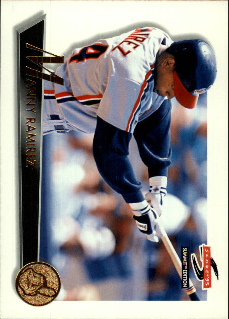 1995 Summit #18 Manny Ramirez