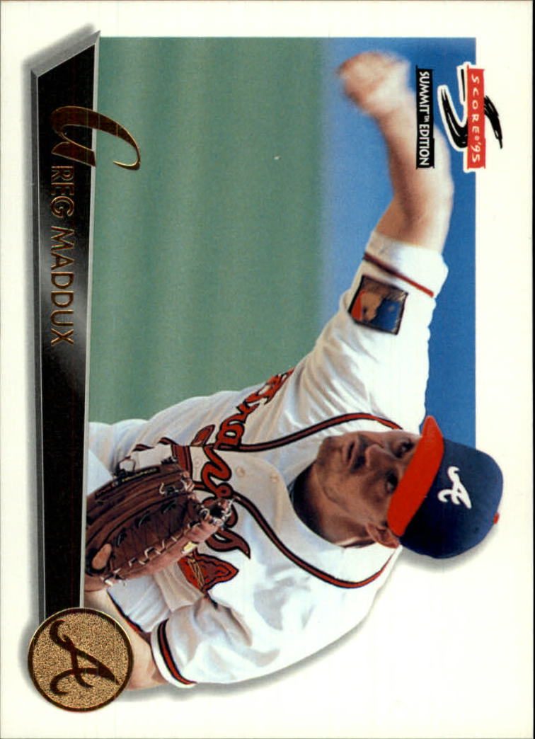 1995 Summit #30 Greg Maddux