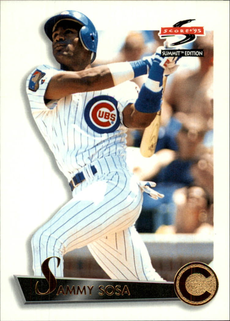1995 Summit #44 Sammy Sosa