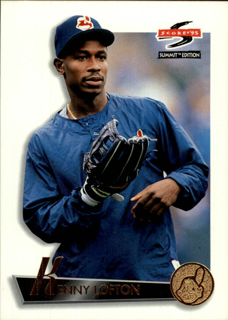 1995 Summit #48 Kenny Lofton