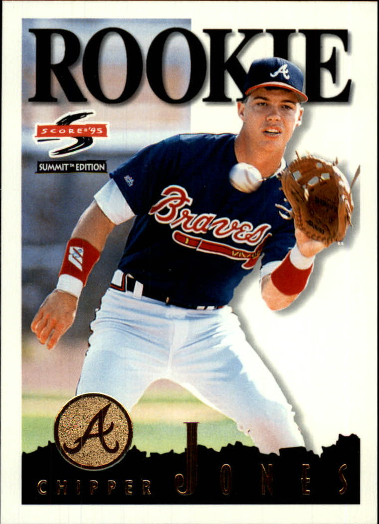1995 Summit #115 Chipper Jones