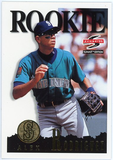 1995 Summit #133 Alex Rodriguez