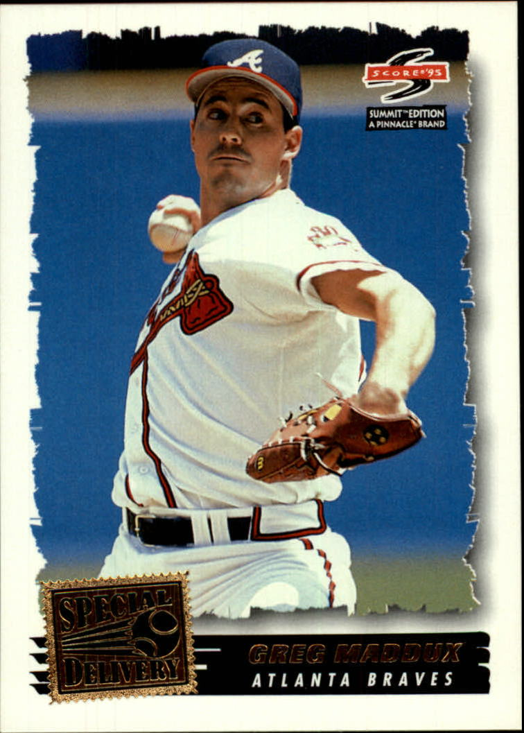 1995 Summit #189 Greg Maddux SPD